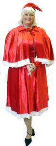 Mother Xmas Costume Plus Size